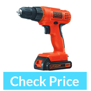 BLACK+DECKER LDX120PK 20-Volt MAX – best battery drill