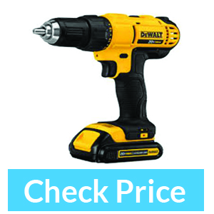 Dewalt DCD771C2 20V MAX Cordless Lithium Compact Driver – Best Cordless Drill 2018